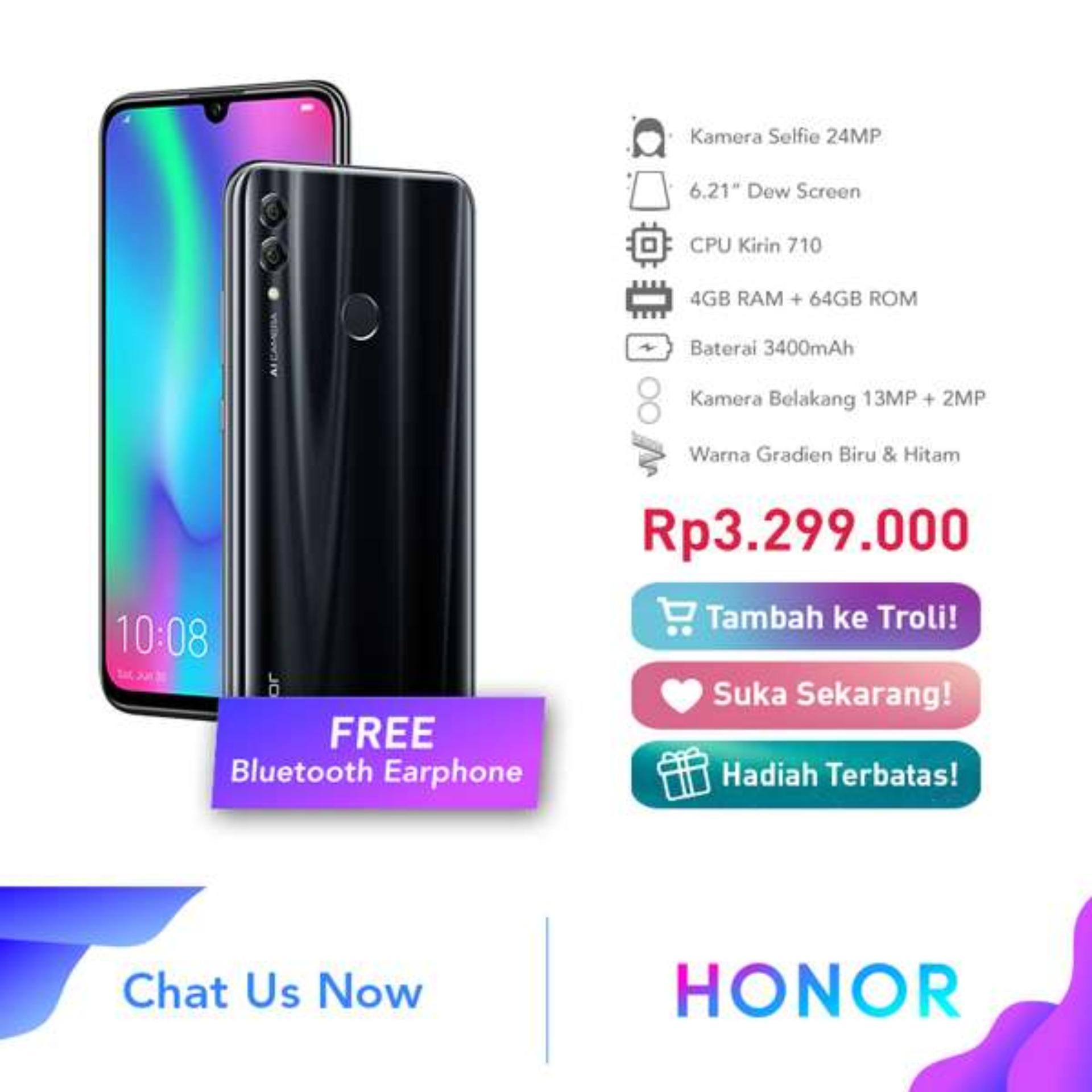 Honor 10 Lite RAM 4GB ROM 64GB Handphone