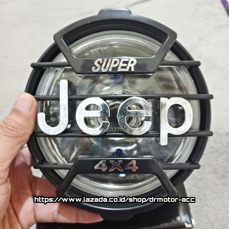 LAMPU DEPAN VARIASI JEEP MOTOR RX - KING VIXION SRORPIO CB ALL MOTOR LAKI