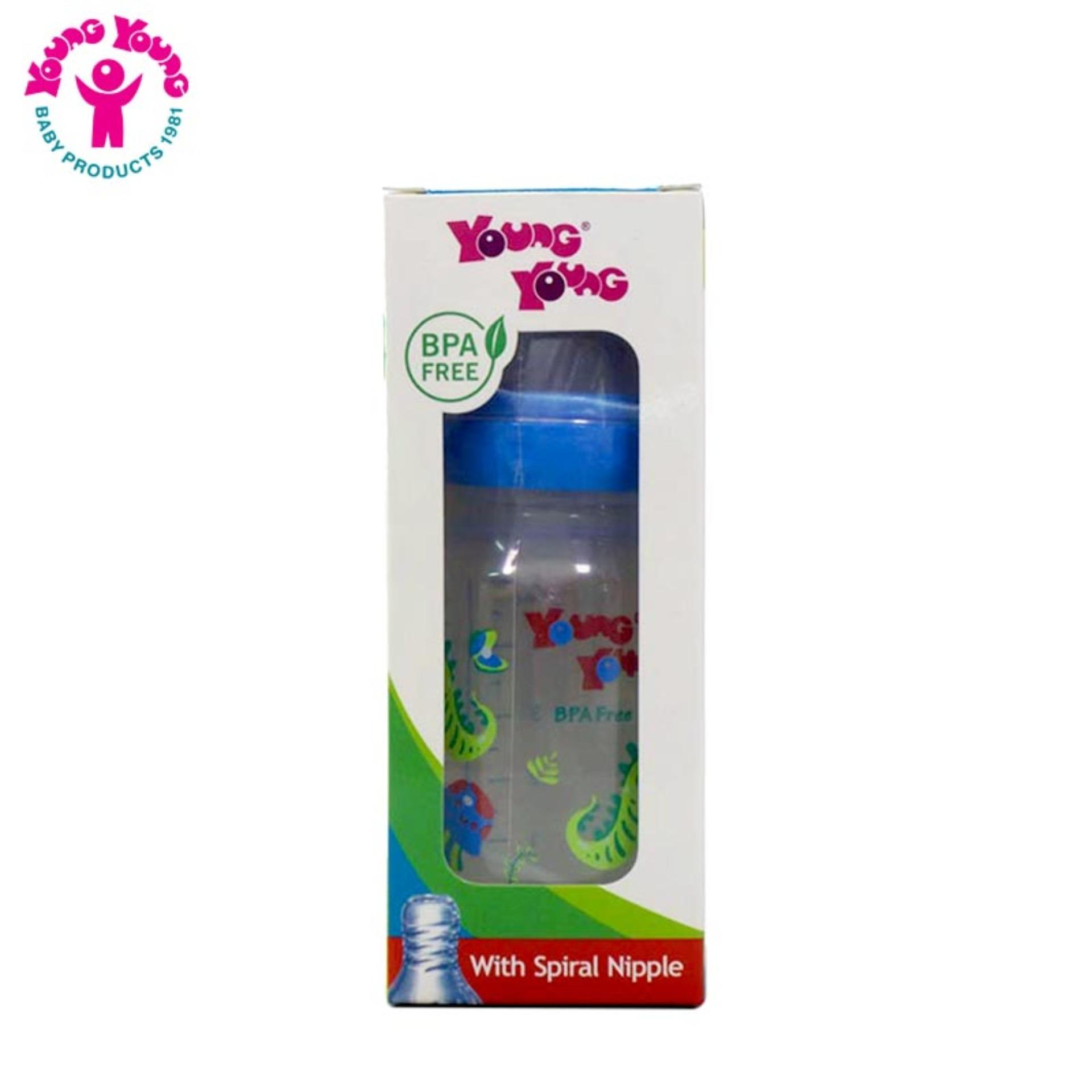 YOUNG YOUNG Botol Susu IL-811 Baby Bottle BPA Free 140 ML