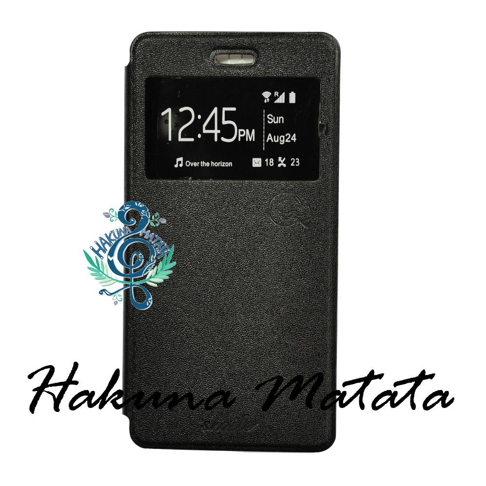 Smile Standing Cover/Sarung Infinix Hot S X521 - Black