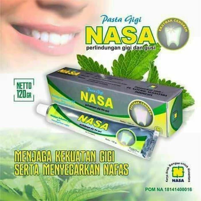 Pasta Gigi Nasa Perontok Karang Gigi Dan Pemutih Gigi By Amanah Herbal Oshop.