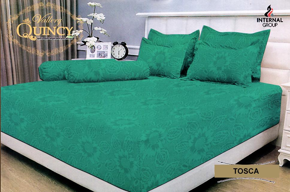 Sprei VALLERY Quincy Jacquard TOSCA Super King Size 200 x 200 x 30 cm