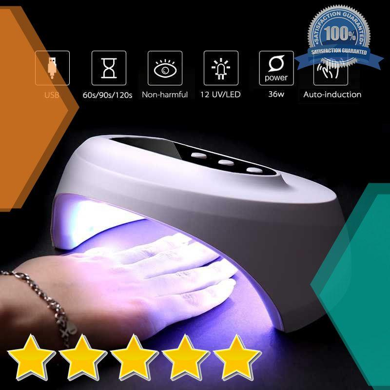 Pengering Kutek Kuku Smart Portable UV LED Nail Dryer 36W - Z10