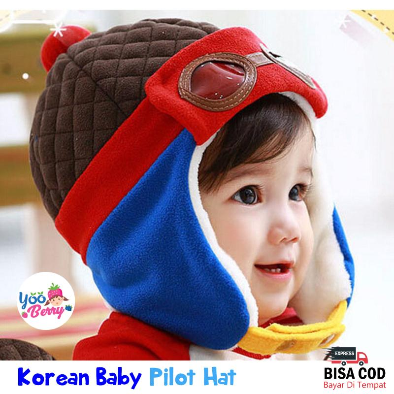Yooberry Topi Pilot Korea Bayi Anak By Yooberry.