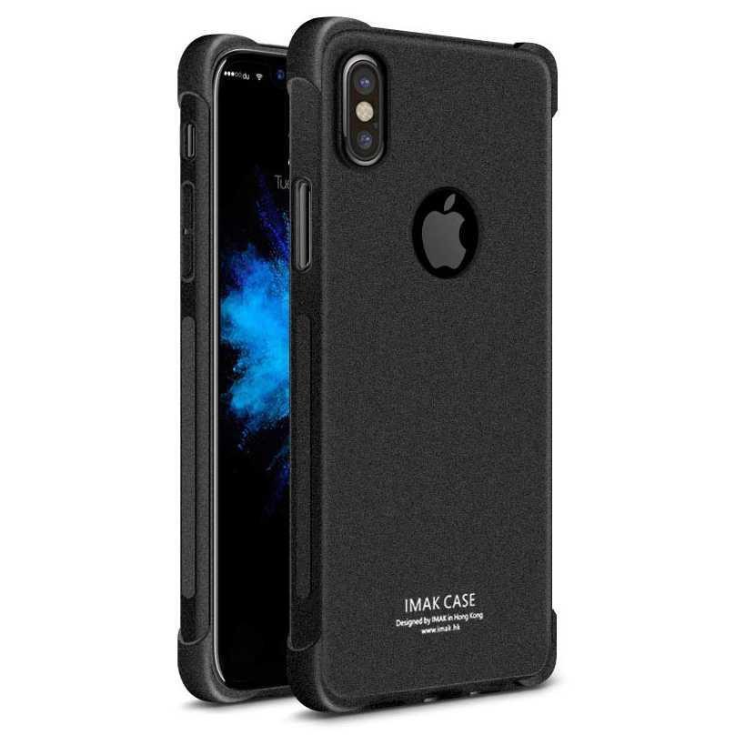 Imak Anti Crack TPU Silicone Softcase for iPhone X - Jual Produk Aksesoris Handphone Murah Berkualitas