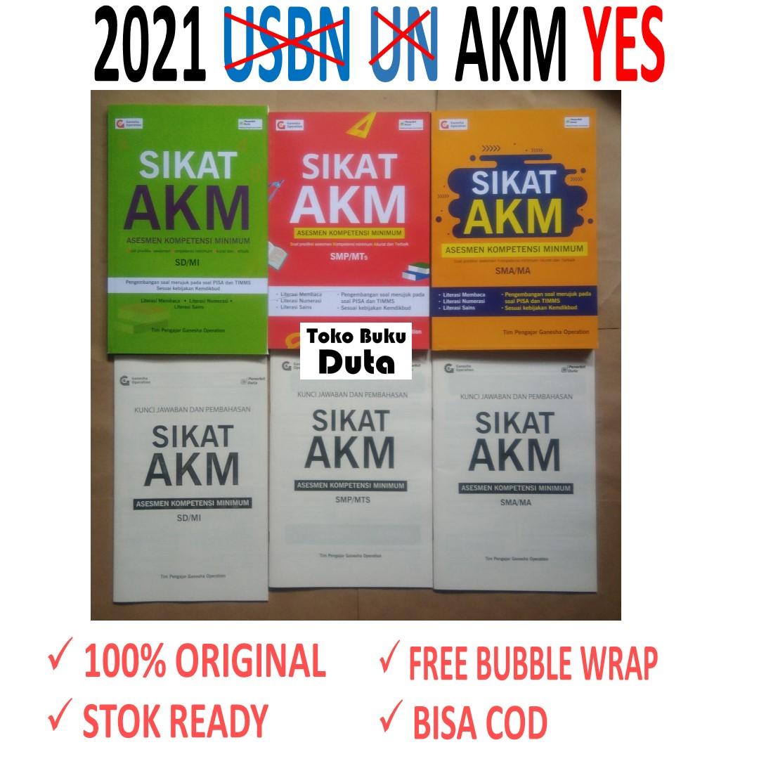 Paket Buku Soal Akm Asesmen Kompetensi Minimum Sd Smp Sma Lazada Indonesia