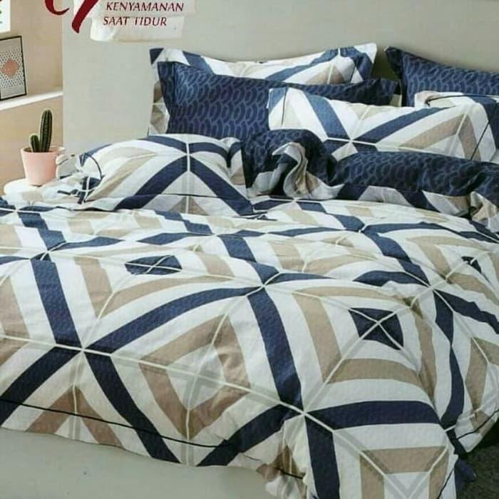 DISKON!!! Bed cover set katun lokal halus aneka motif ukuran 160x200/180x200 Sedia Juga bed cover, Bed cover set, cover sofa bed, Bed cover lady rose, Bed cover bonita, sprei dan Bed cover