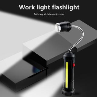 Đèn Pin Adboom Mới, Đèn Kiểm Tra Ống Mềm TikTok COB, Sạc USB, Có Đèn Làm Việc LED Nam Châm thumbnail