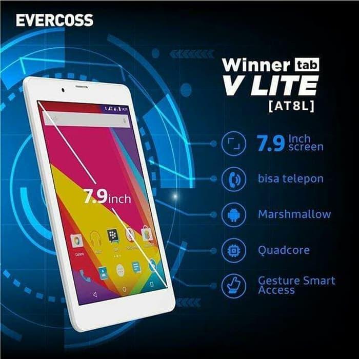 "Evercoss AT8L Winner Tab V Lite Tablet 7.9"""