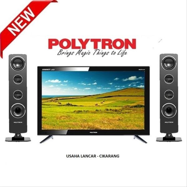 TV LED POLYTRON [24 Inch] PLD 24T1850/8511 SPEAKER TOWER