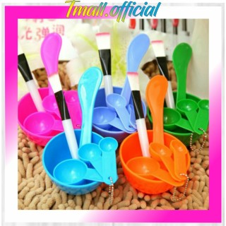 TMALL R015 Mangkok Masker Set Wajah Kosmetik Mangkuk Kuas 6in1 Mask Bowl Make up Korea Import thumbnail