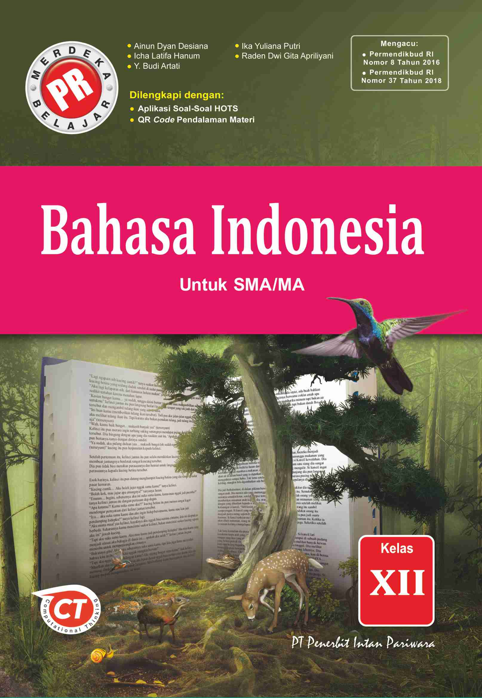 Buku Pr Bahasa Indonesia Kelas 12 Lks Intan Pariwara 2020 2021 Lazada Indonesia