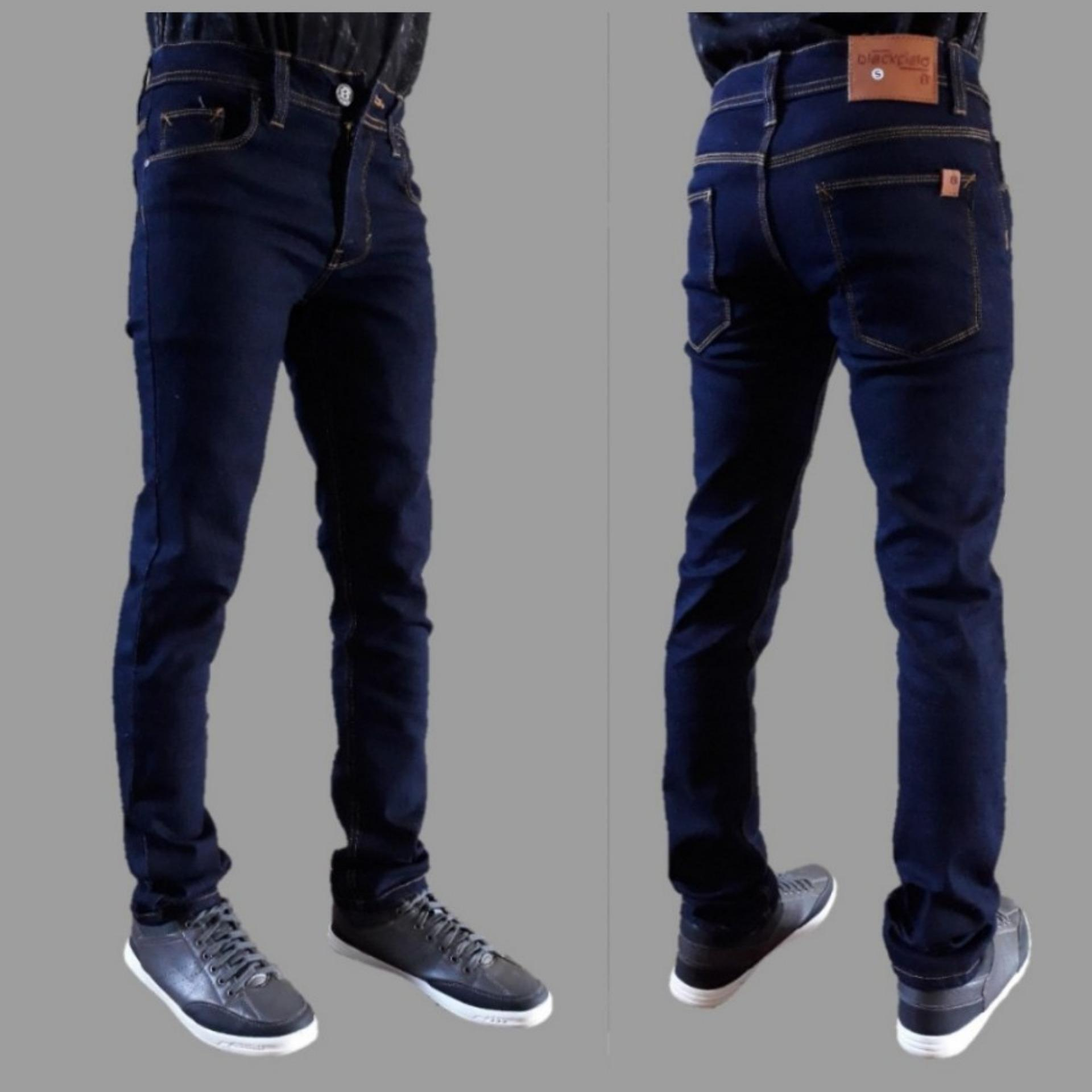 Celana jeans pria / jeans skinny / jeans pensil / jeans slim fit pria /Jeans Garment Pria Fashion Casual