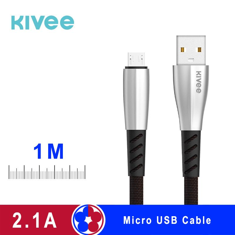 Kivee Original Kabel CB103 1Meter Micro USB Kabel Typc-C  Kable Apple Lightning Kable Current 2.1A fast charging cable