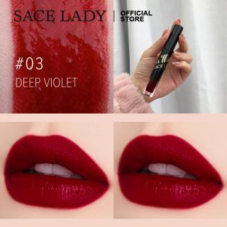 SACE LADY Matte Lip Gloss Makeup Tahan Lama Tahan Air Sangat Pigmen Lipstik 6 warna thumbnail