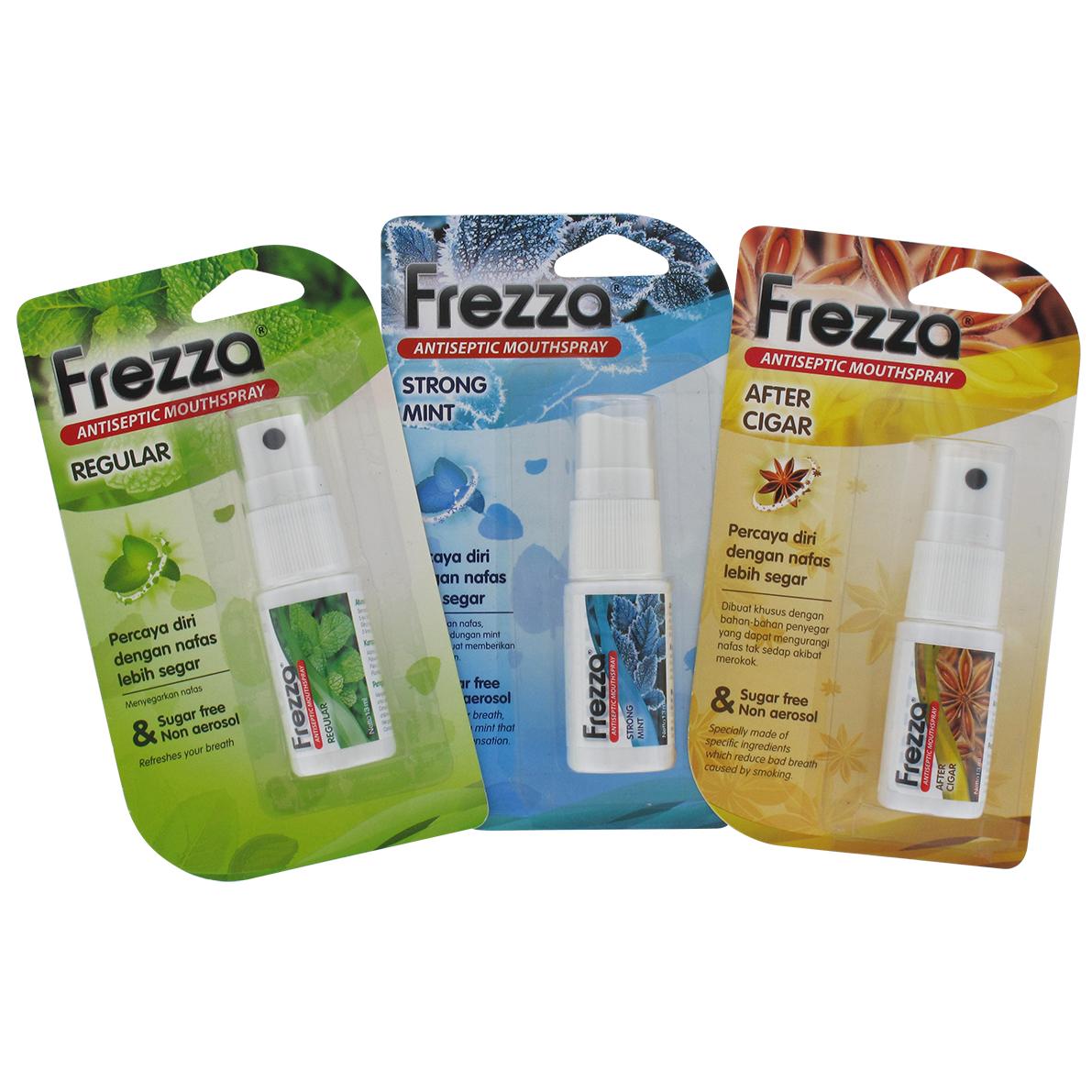 Pengharum Mulut Frezza Mouth Spray Penghilang Bau Mulut Lazada