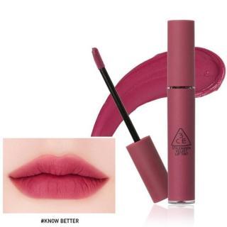 Liptint Korea 3ce Velvet Lip Tint KNOW BETTER Banyak Variasi Warna thumbnail