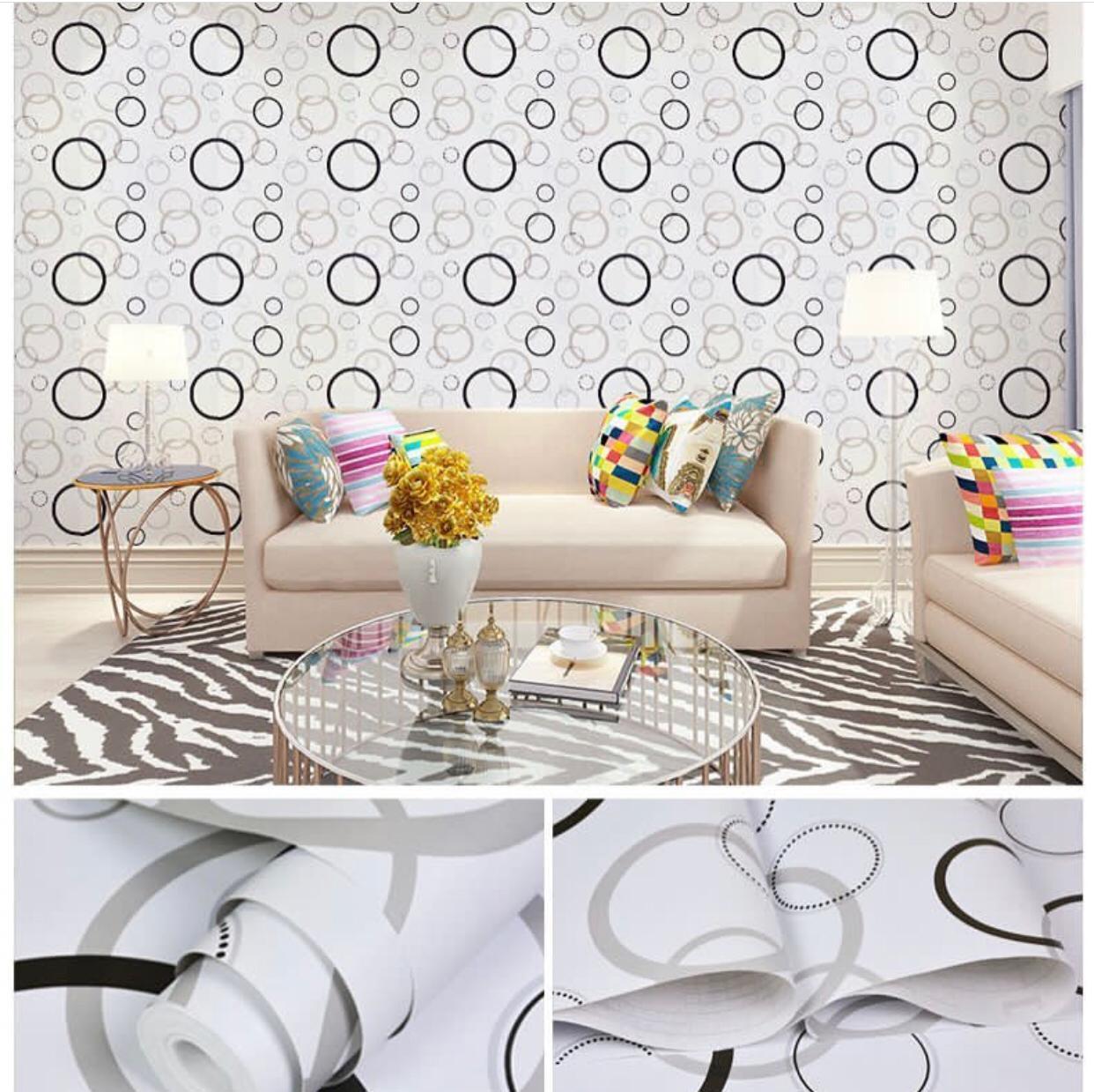 Tiga  Dimensi  Hiasan Dinding Kamar Tidur Dinding Keramik