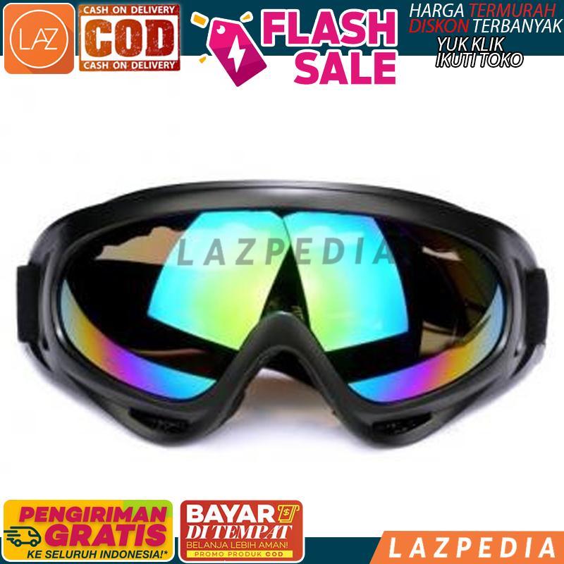 [d3] - Cod - [no 2 Uv400 - X400] Kacamata Goggles Ski / Pelindung Mata / Penutup Mata / Aksesoris Ski - Lazpedia By Lazpedia.