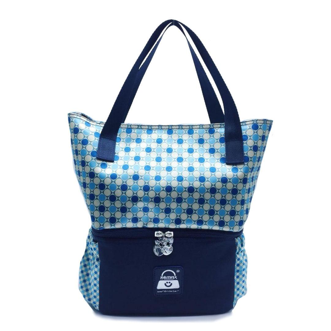 Coolerbag Naimax Louisiana Spotted Navy By Mommy Baby Shop Indonesia.