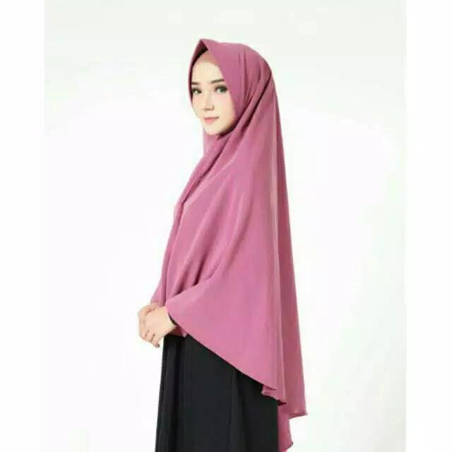 Jilbab / Hijab KHIMAR AIRA PINGUIN INSTAN SYARI - Kerudung Instant Alfatih Fashion