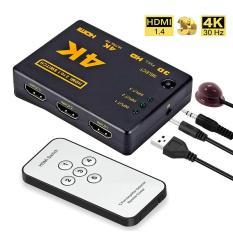 Bộ Chuyển Đổi HDMI 3 Cổng HDMI Hộp Hub 3 Trong 1 Ra + Công Tắc Tự Động Từ Xa 1080P HD Đặc Điểm Kỹ Thuật: 3 Cổng