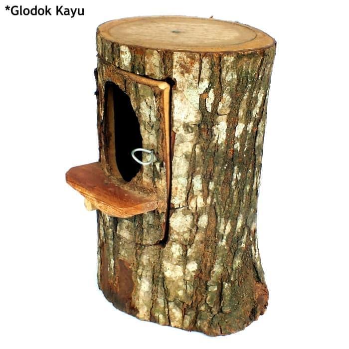 Rumah Sarang Lovebird Falk Burung Glodok Kayu Pohon