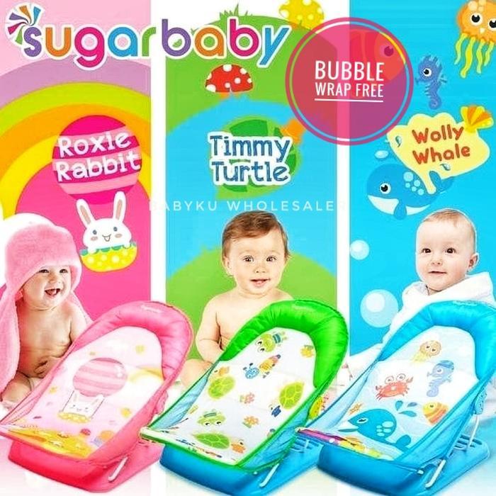 Baby Bather Sugarbaby Deluxe / Tempat Duduk Mandi Bayi Sugar Baby By Toko Buana Poetika.