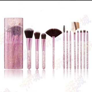 Kuas Make Up Tabung 12pcs Make Up Brush 12 Set In Tube Kuas Rias Make Up 12 Set Import thumbnail