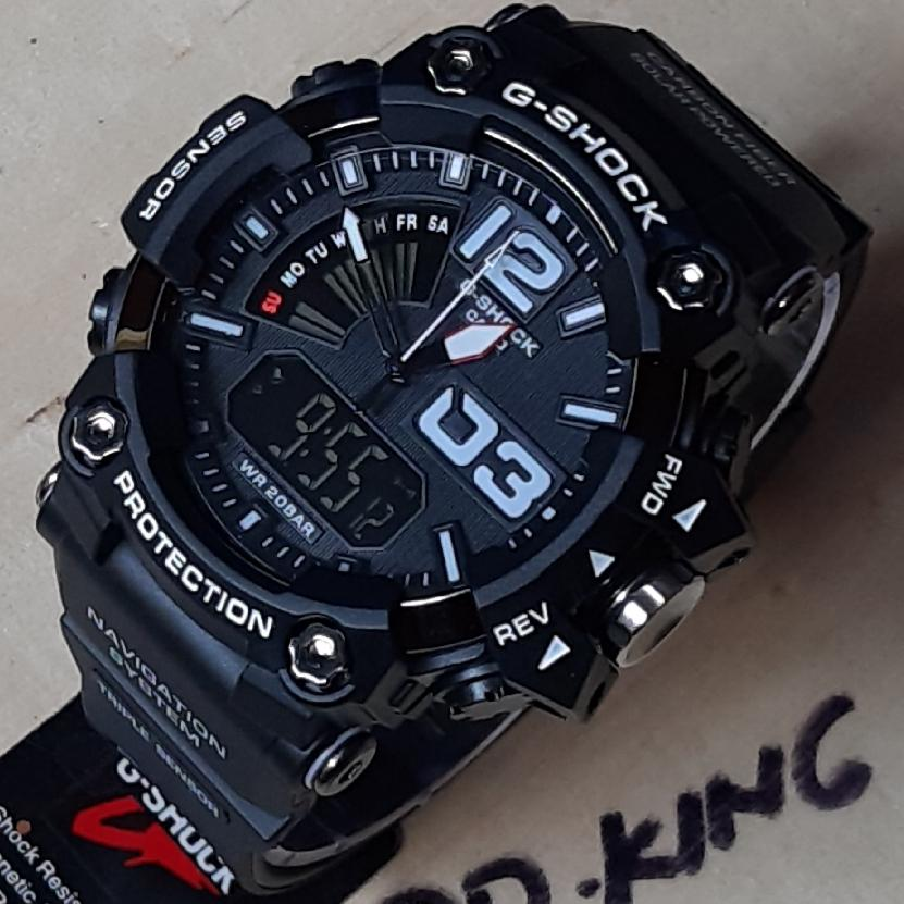 Jam Tangan Sport Fashion Pria G Shock_GWG1000/dual time Water Resist