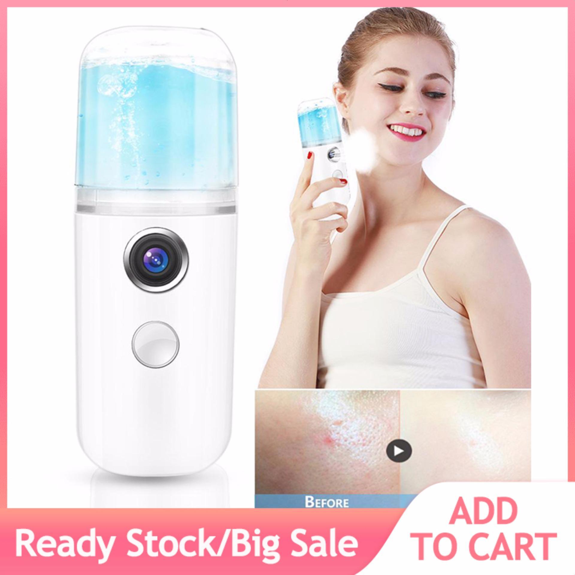 30ml Usb Handy Nano Mist Spray Atomization Mister Face Facial Moisturizing Mist Sprayer By Beautytop.