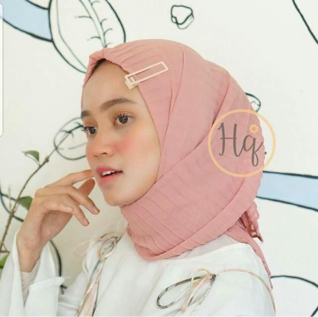 Hijab Pasmina Crinkle warna terlengkap / jilbab Pashmina Crinkle warna terlengkap Termurah - SS
