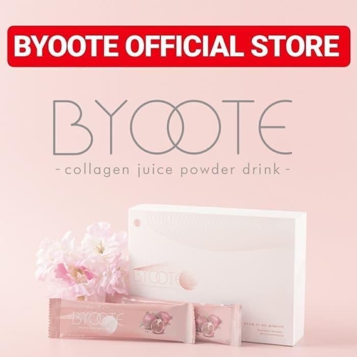 BYOOTE Collagen 1 Box 16 sachet Glutahione Antioxidant Whitening