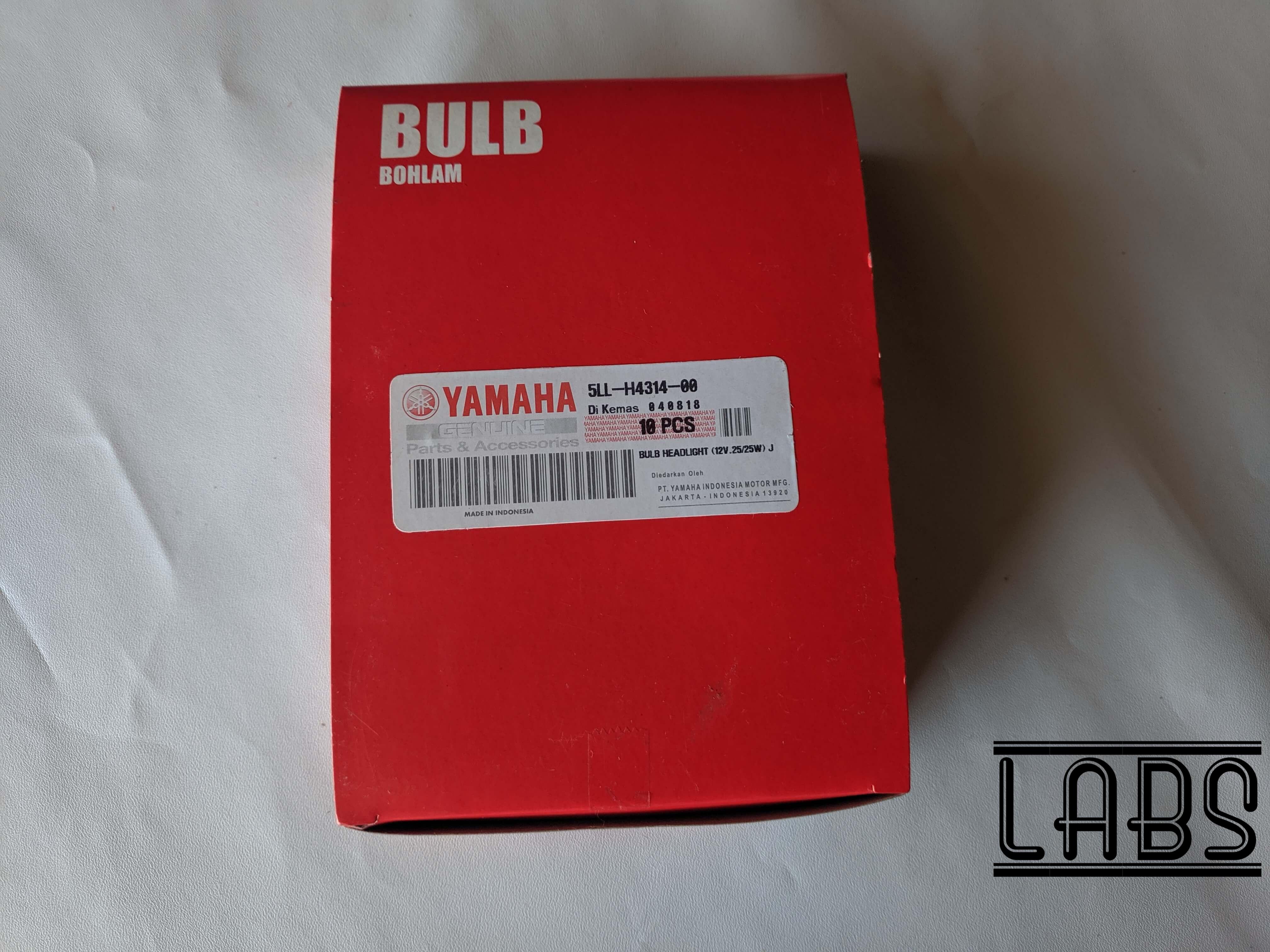[Grosir]Bohlam Depan Lampu Yamaha Mio 12V 25Watt LED Sorot Tembak Motor 5LL 10 pcs
