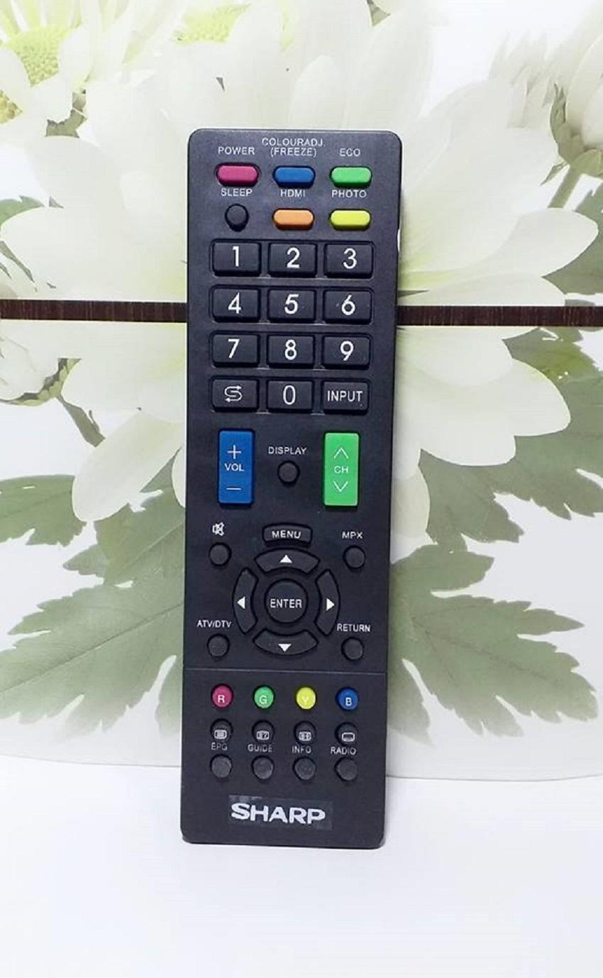 SHARP Remote TV LED/LCD Universal - Hitam