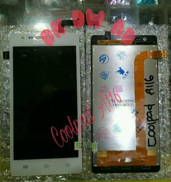 lcd coolpad A116 white