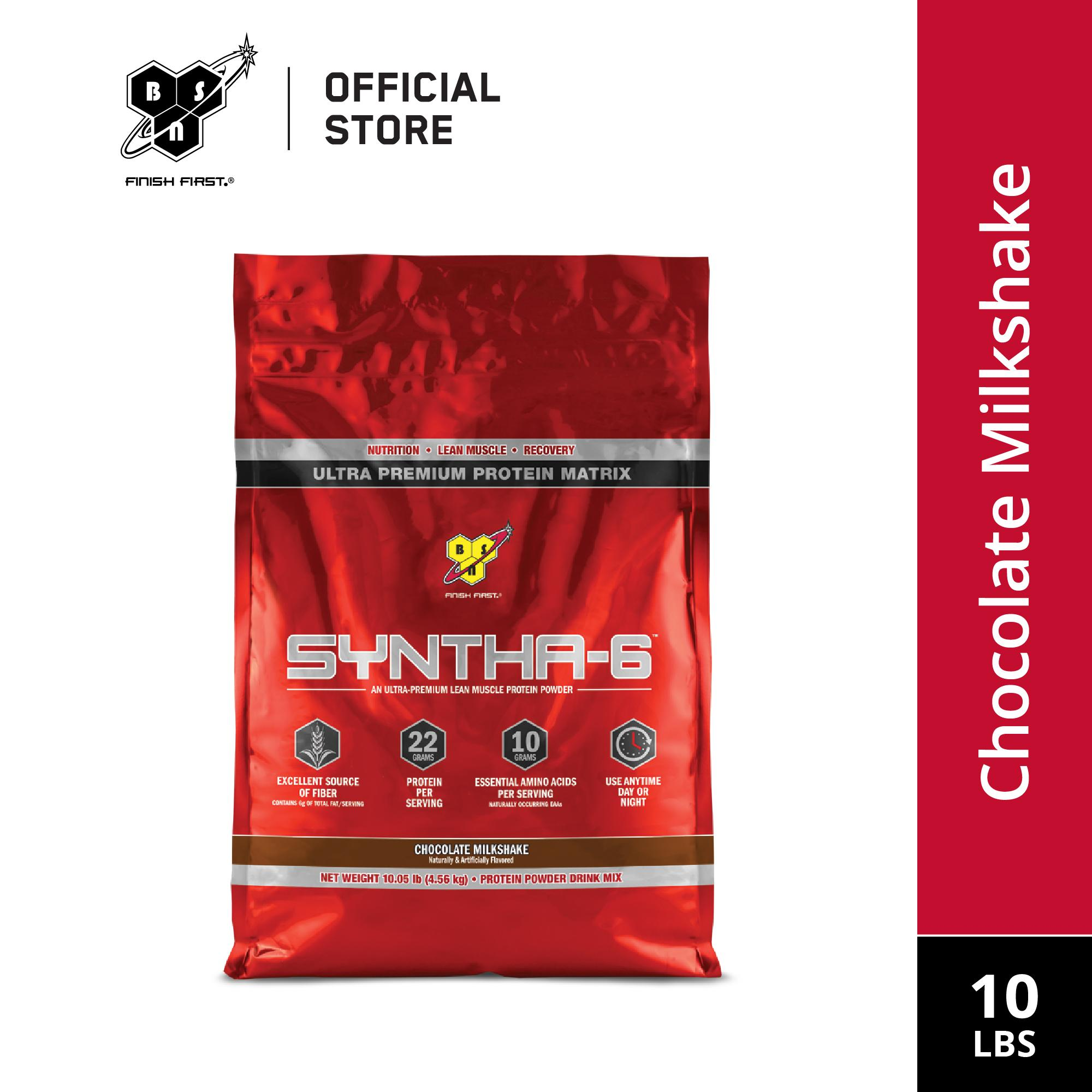 Bsn Syntha 6 10lbs Chocolate Milkshake By Sport N Body Fit.