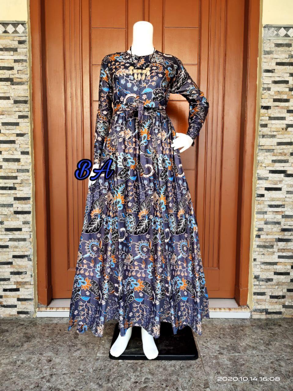 Gamis Terbaru 2020 Modern Gamis Katun Rayon Terbaru 2020 Gamis Murah Bagus Baju Gamis Wanita Terbaru 2020 Dres Wanita Terbaru Gamis Batik Terbaru Gamis Murah Bagus