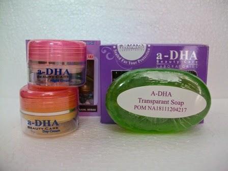 Adha Cream Pink BPOM Original / Cream Pemutih Wajah Paket Ekonomis / Beauty Care White Series