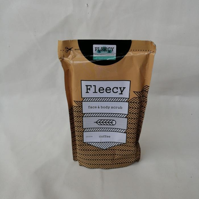 Fleecy Coffe Face And Body Scrub By Berlian Cosmetik.