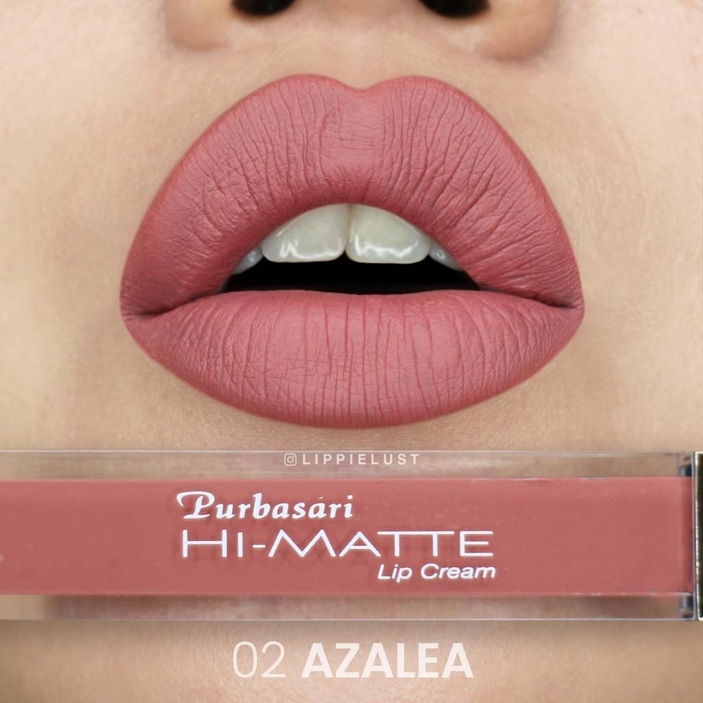 Purbasari Hi-Matte Lip Cream Hydra Series - 02 (Azalea)