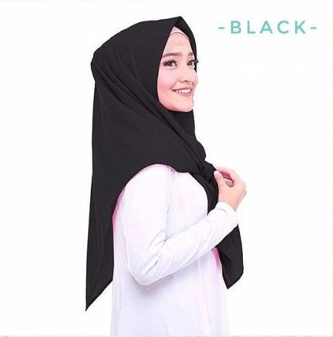 Hijab Jilbab Kerudung Terbaru 2019 SEGITIGA Segi Tiga INSTAN Instant Diamond Georgette Berkualitas Trend Style Lebaran 2019 PROMO Termurah Tangan Pertama