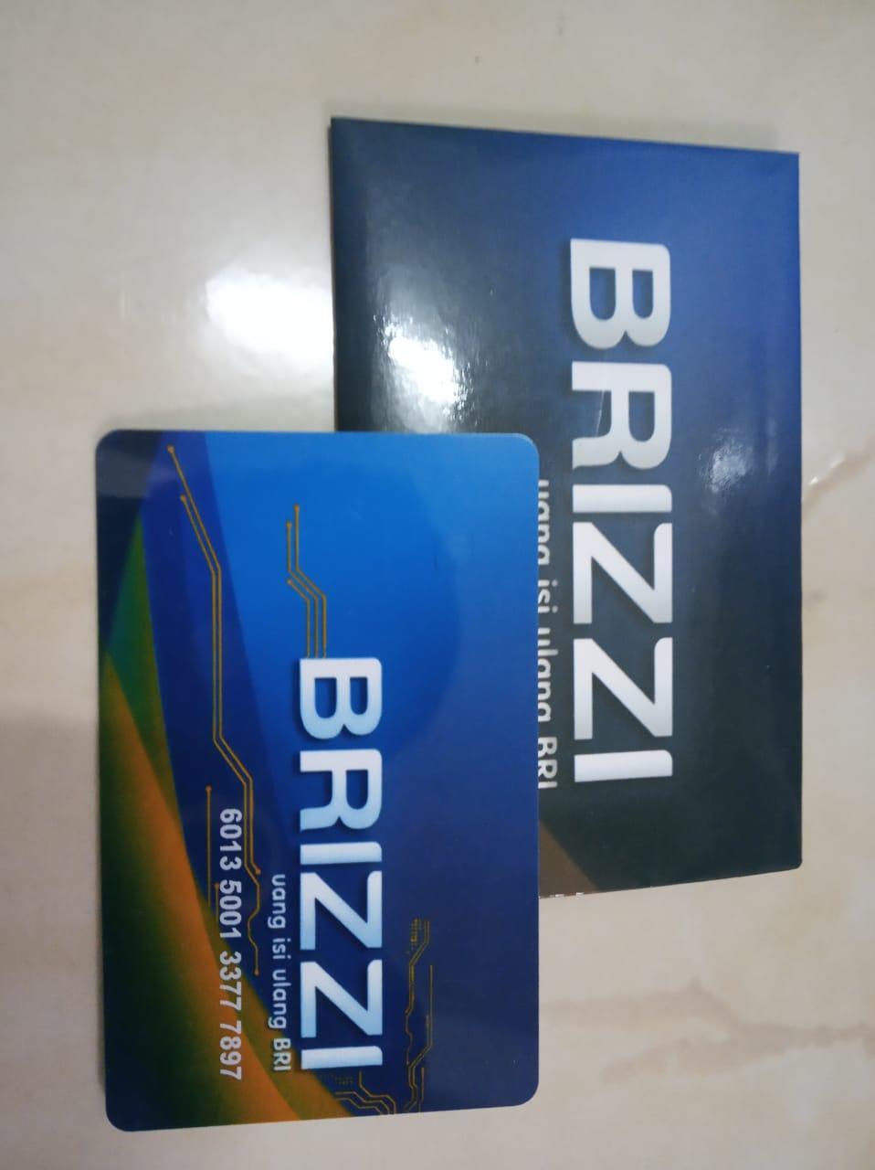 Kartu Elektronik BRIZZI BRI emoney Etoll E money E-Toll Commuter Line