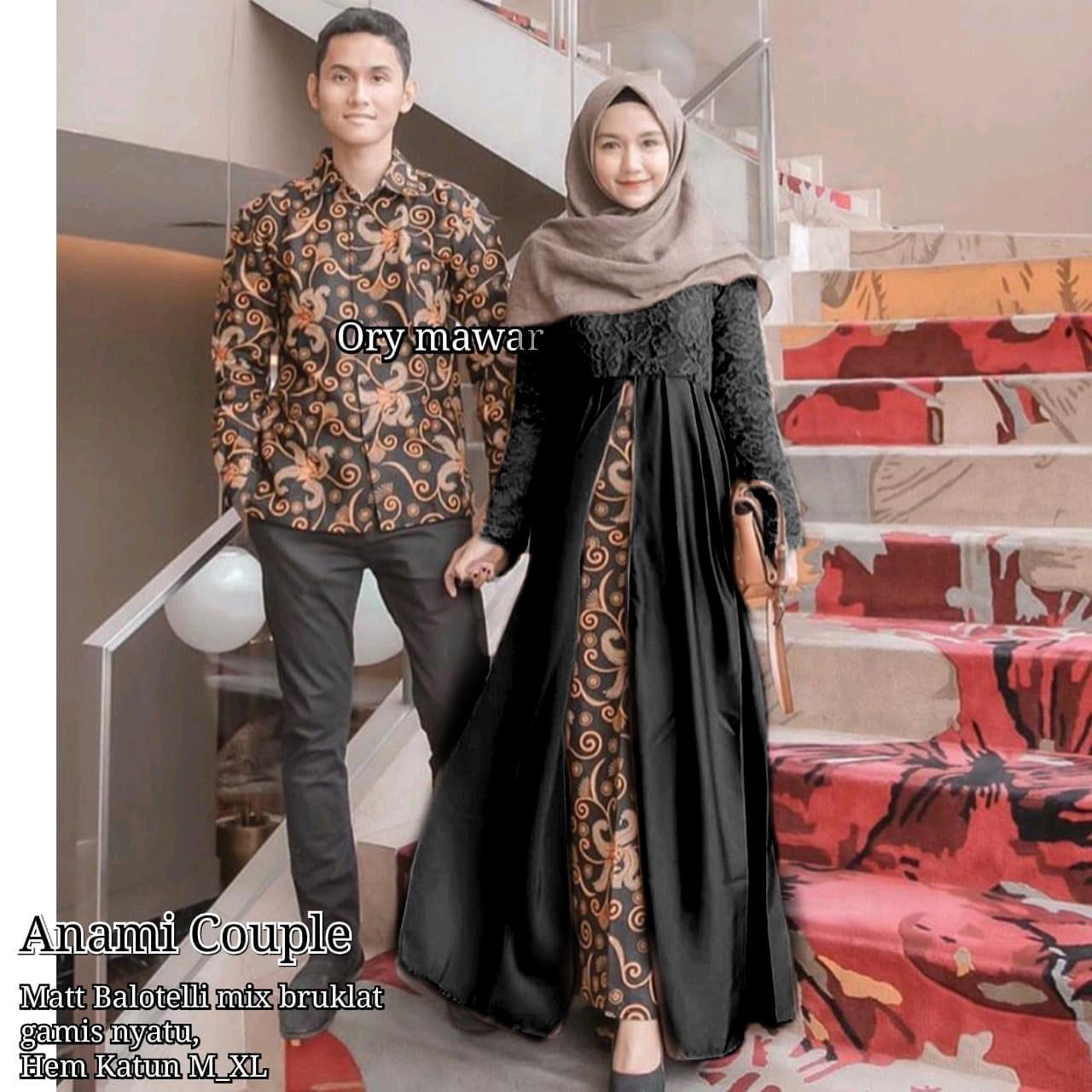 TERMURAH - Batik Couple - Couple Batik - Baju Muslim Wanita Terbaru 2018 -  Batik Murah 47259ad3eb
