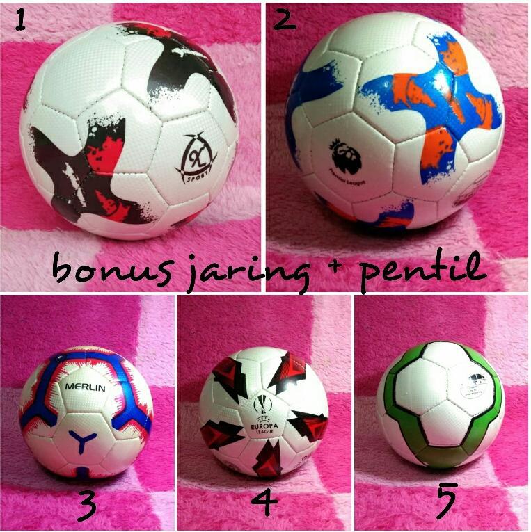 Bola Sepak Soccer Size 5 Murah Made In Sukabumi By Kandank768