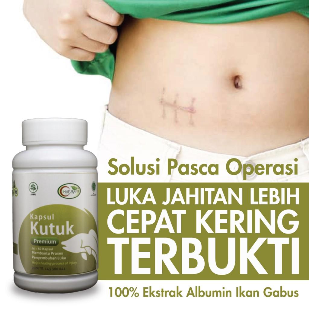 Kapsul Kutuk Premium Original Ekstrak Albumin Ikan Gabus Obat Pasca Operasi Caesar Melahirkan Dll Lazada Indonesia