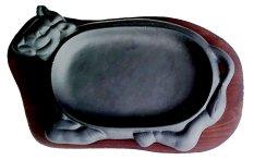 Cake MoldsHot Plate Alat Pemanggang Daging Steak & Barbeque - Hitam