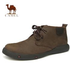 Harga Unta Pria Martin Asli Kulit Sepatu Bot Kasual Perempuan Ankle Boots Perkakas Kulit Boots Brown New