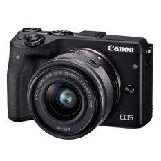 Toko Canon Eos M3 24 2Mp Kit 15 45Mm Hitam Canon