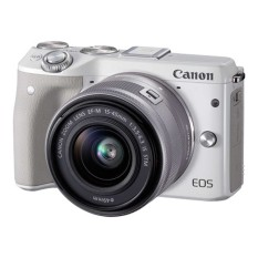 Jual Canon Eos M3 24 2Mp Kit 15 45Mm Putih Original